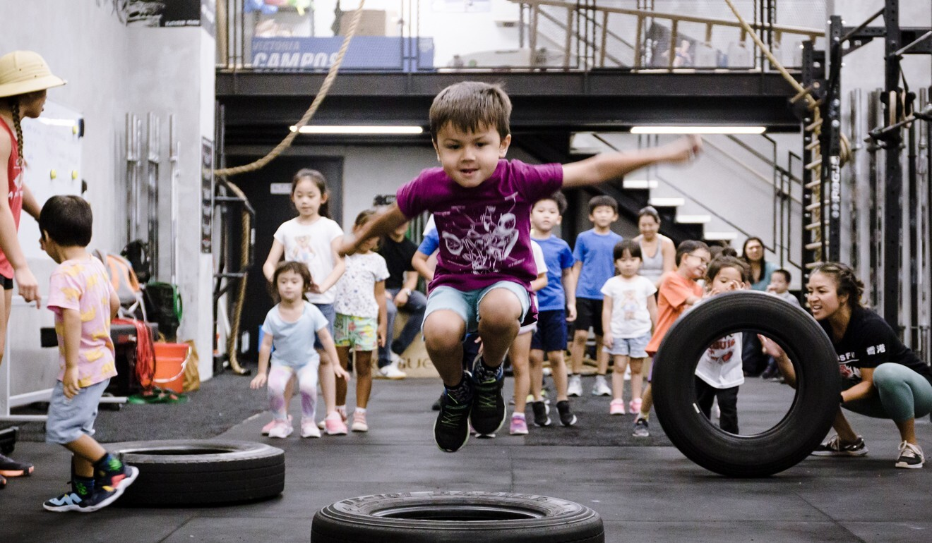CrossFit Asphodel's Kidzilla looks to get children moving during the Covid-19 restrictions. Photo: Handout