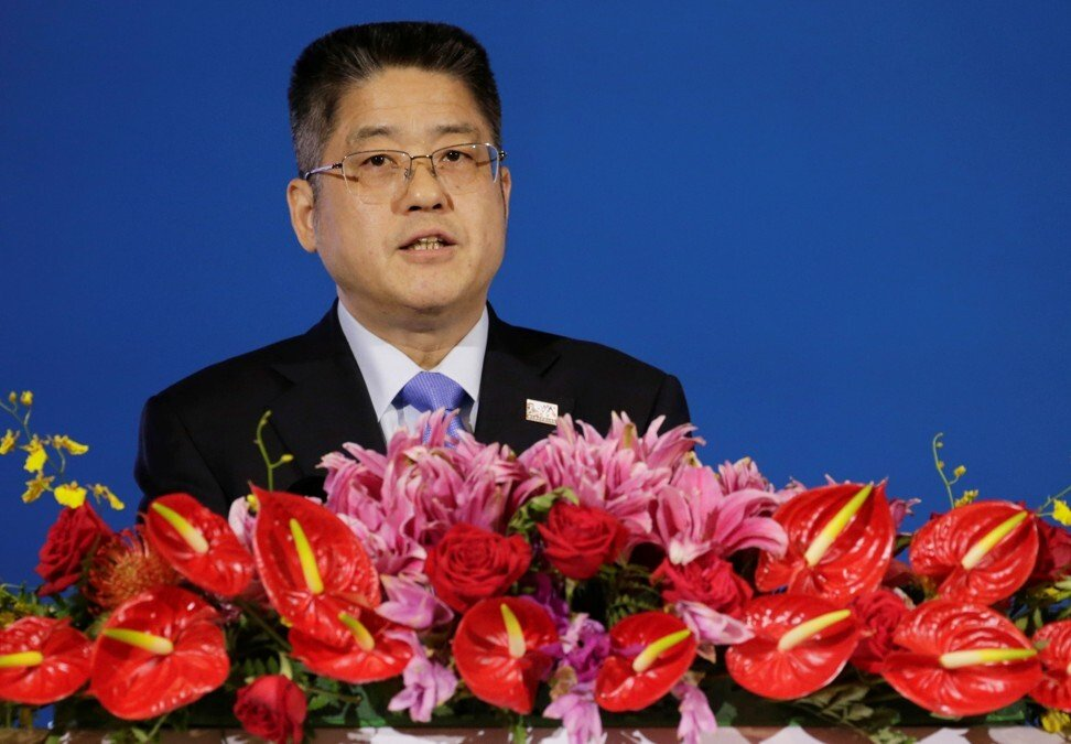 China's foreign vice-minister, Le Yucheng, has added his voice to the calls for talks. Photo: Reuters