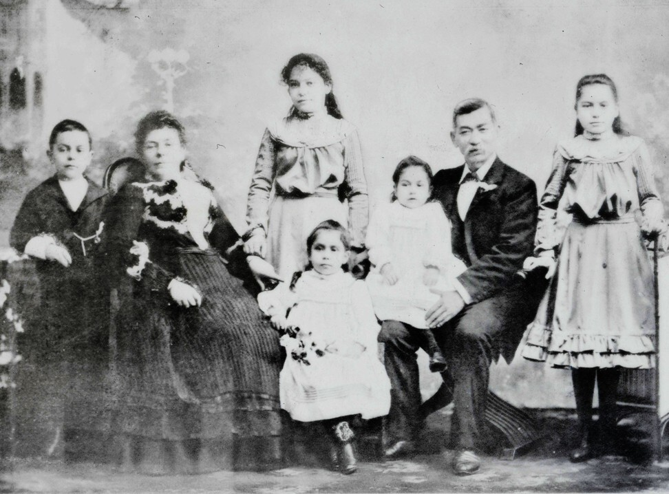 Quong Tart and his family circa 1900. Photo: Museum of Chinese Australian History