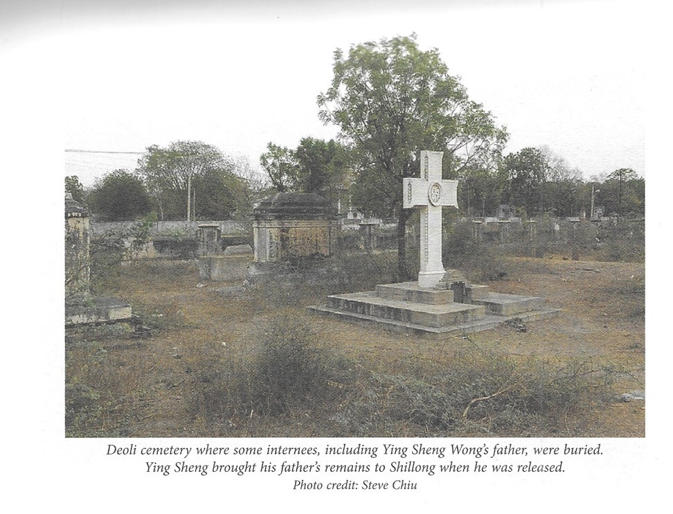 The cemetery where Ying Sheng Wong's father was buried. Photo courtesy of Joy Ma and Dilip D'Souza