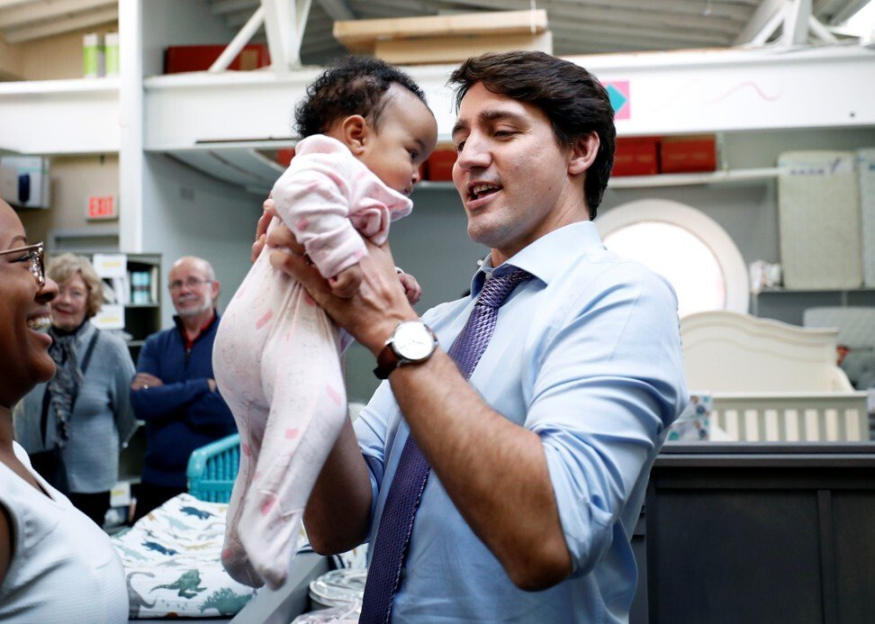 Justin Trudeau owns an IWC watch. Photo: Reuters