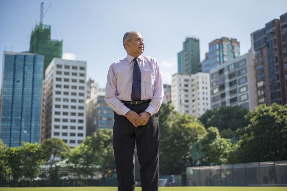 Jal Shroff at the Kowloon Cricket Club. Photo: Antony Dickson