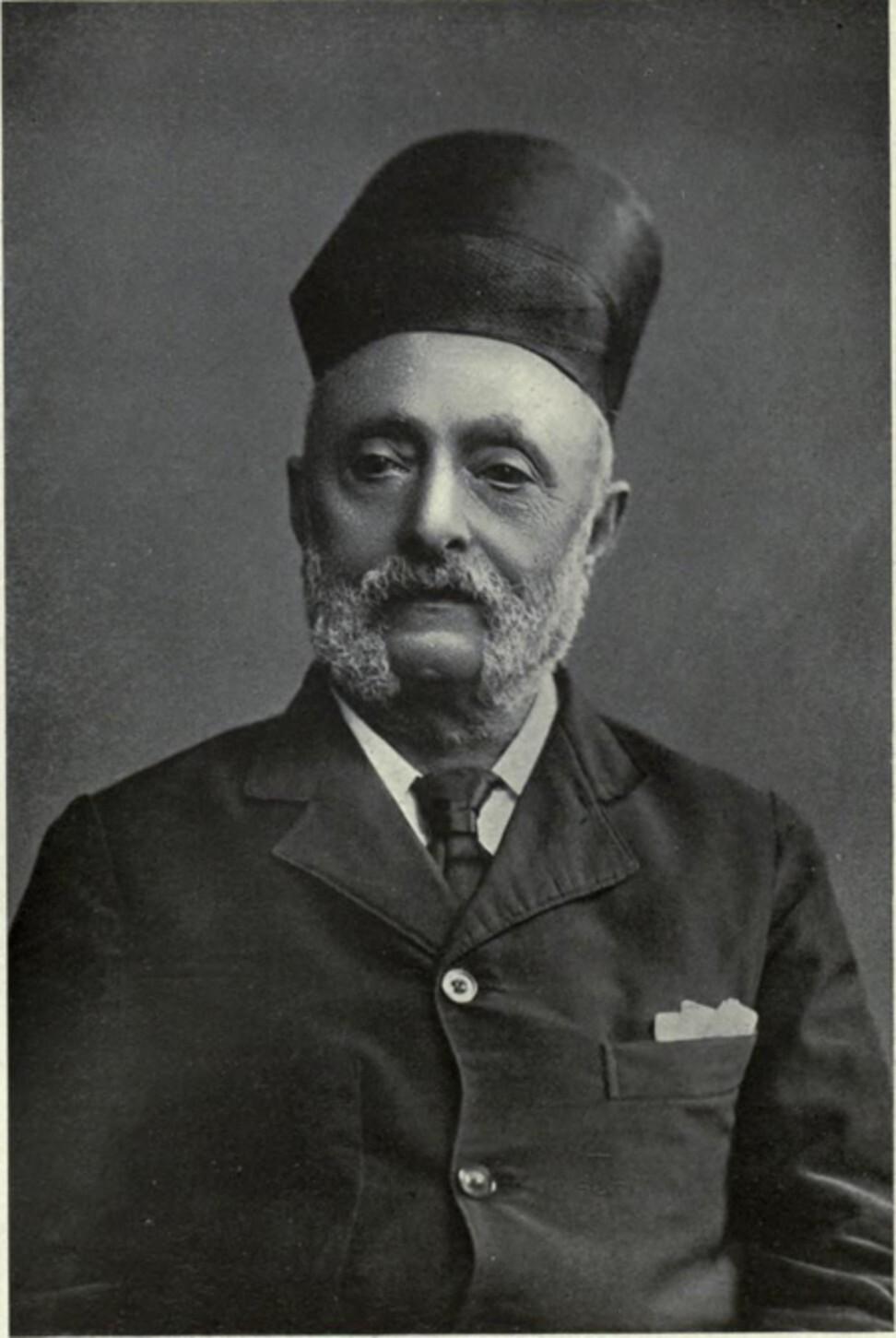 Hormusjee Naorojee Mody. Photo: Wikipedia