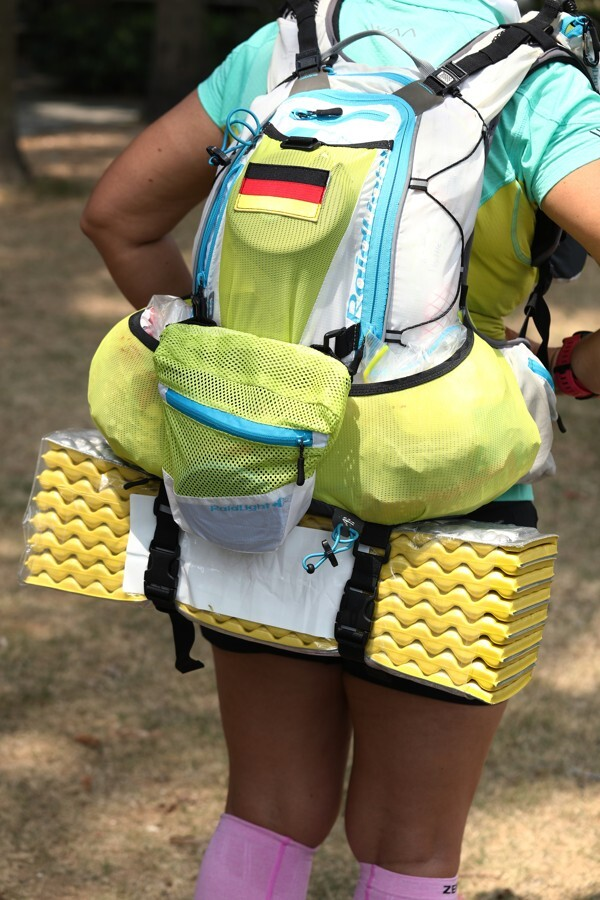 If you have to carry all your gear, dehydrated meals are a good weight-saver, but try them before the race. Photo: Nora Tam
