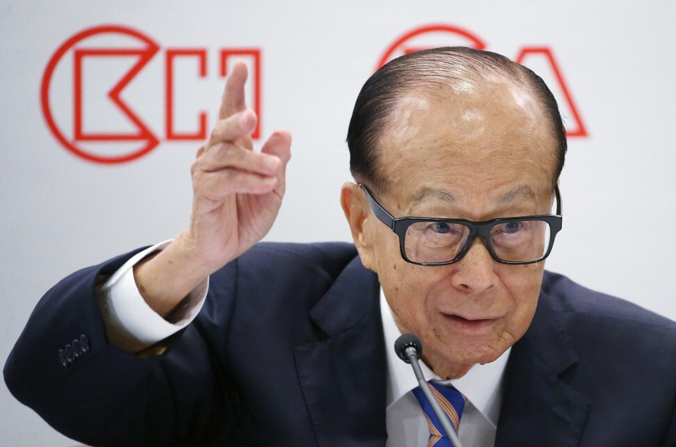 Li Ka-shing may have stepped back from the day-to-day of CK Hutchison Holdings but remains a very influential figure in the city. Photo: SCMP