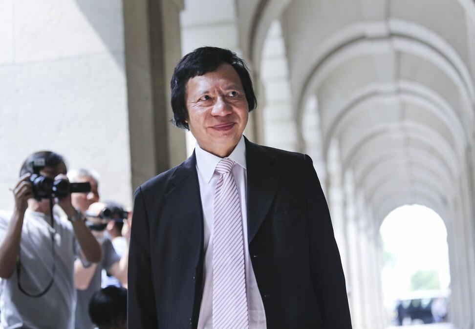 Former Sun Hung Kai Properties co-chairman Thomas Kwok Ping-kwong. Photo: SCMP
