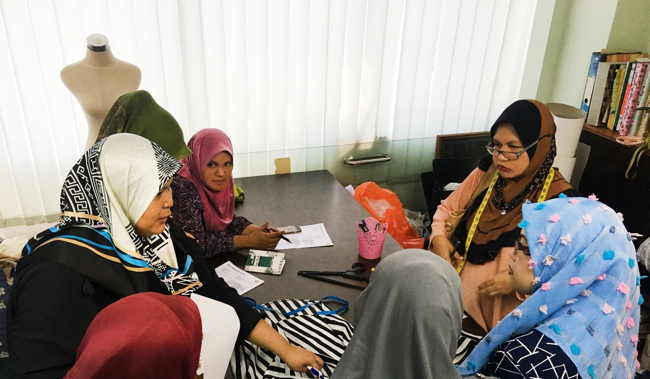Komuniti Tukang Jahit is a community-driven programme that teaches sewing skills to women from lower-income groups. Photo: Handout