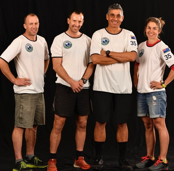 Stuart Lynch, Chris Forne, Nathan Fa'avae and Sophie Hart. Photo: Poby/Amazon