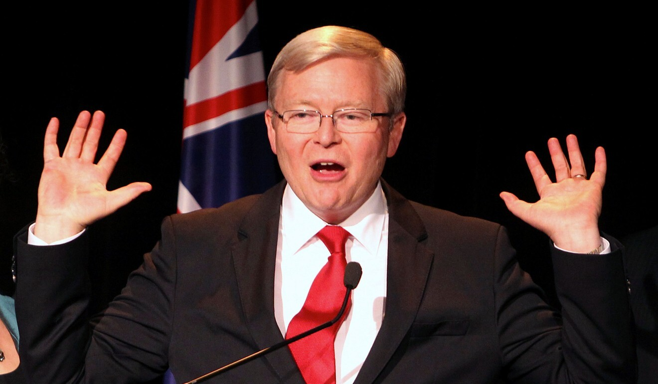 Former Australian Prime Minister Kevin Rudd pictured in 2013. Photo: Reuters