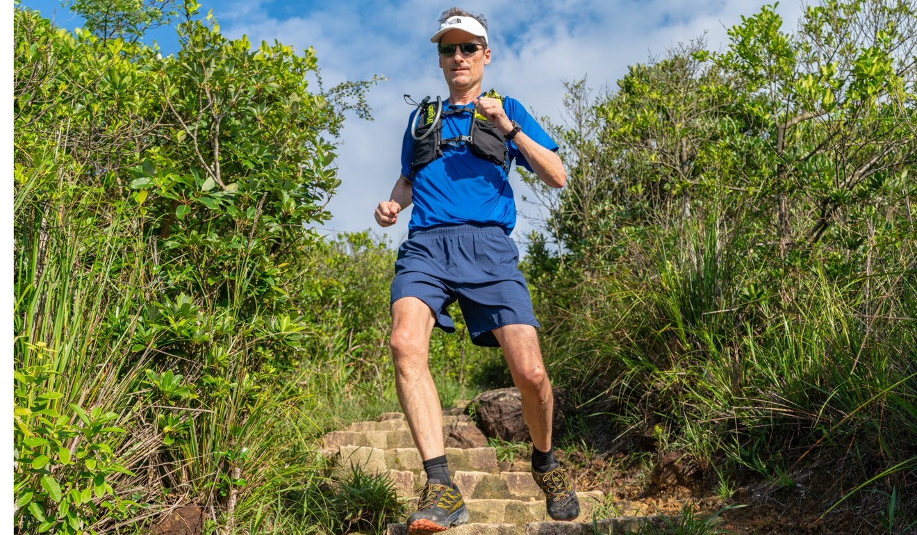 Mark Western, creator of the Hong Kong 360 route, completes the course 50km at a time over a week. Photo: Handout
