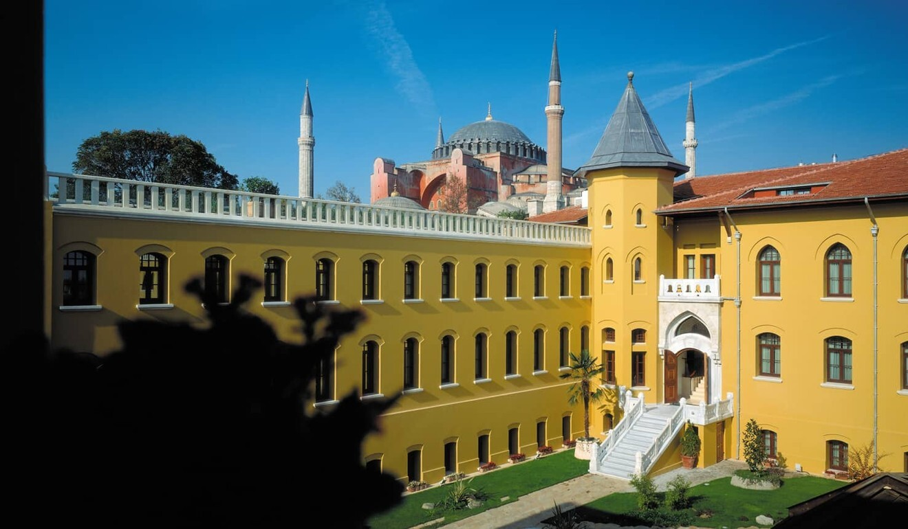 The Four Seasons Sultanahmet, a hotel in a former prison.