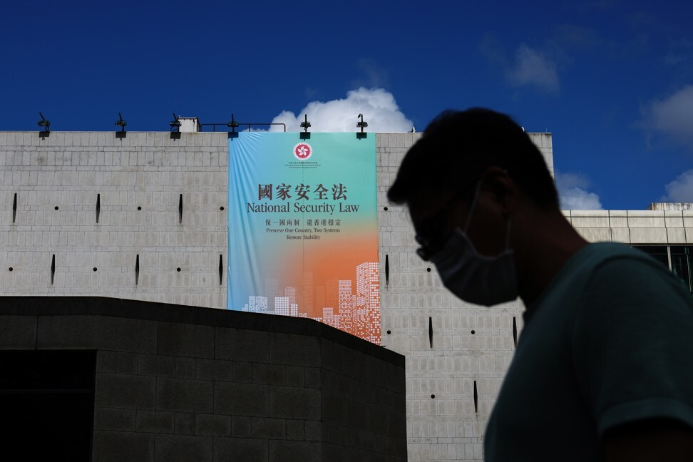 The national security law was imposed on Hong Kong on the evening of June 30, targeting acts of secession, subversion, terrorism and collusion with foreign forces. Photo: Sam Tsang