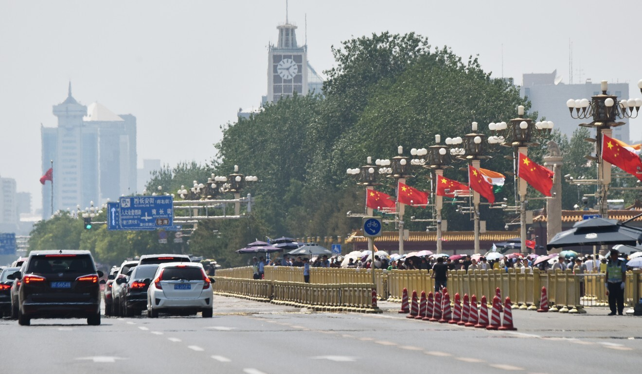 Beijing wants to reduce construction, commercial activities and tourism in the heart of the city. Photo: AFP