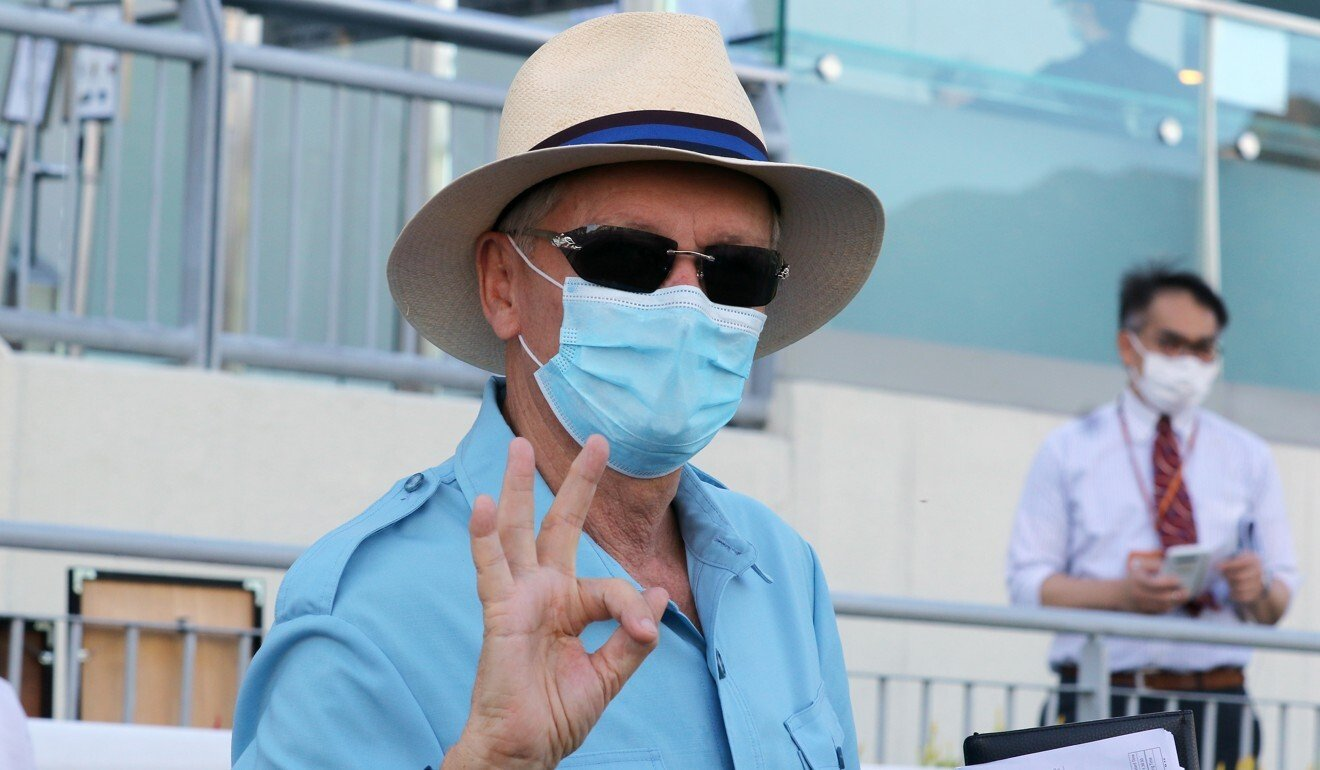 John Moore at Sha Tin last season.