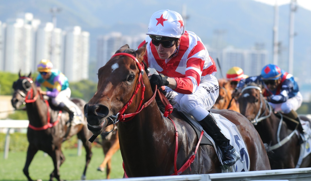 Jockey Antoine Hamelin reunites with Baltic Success at Sha Tin on Sunday.