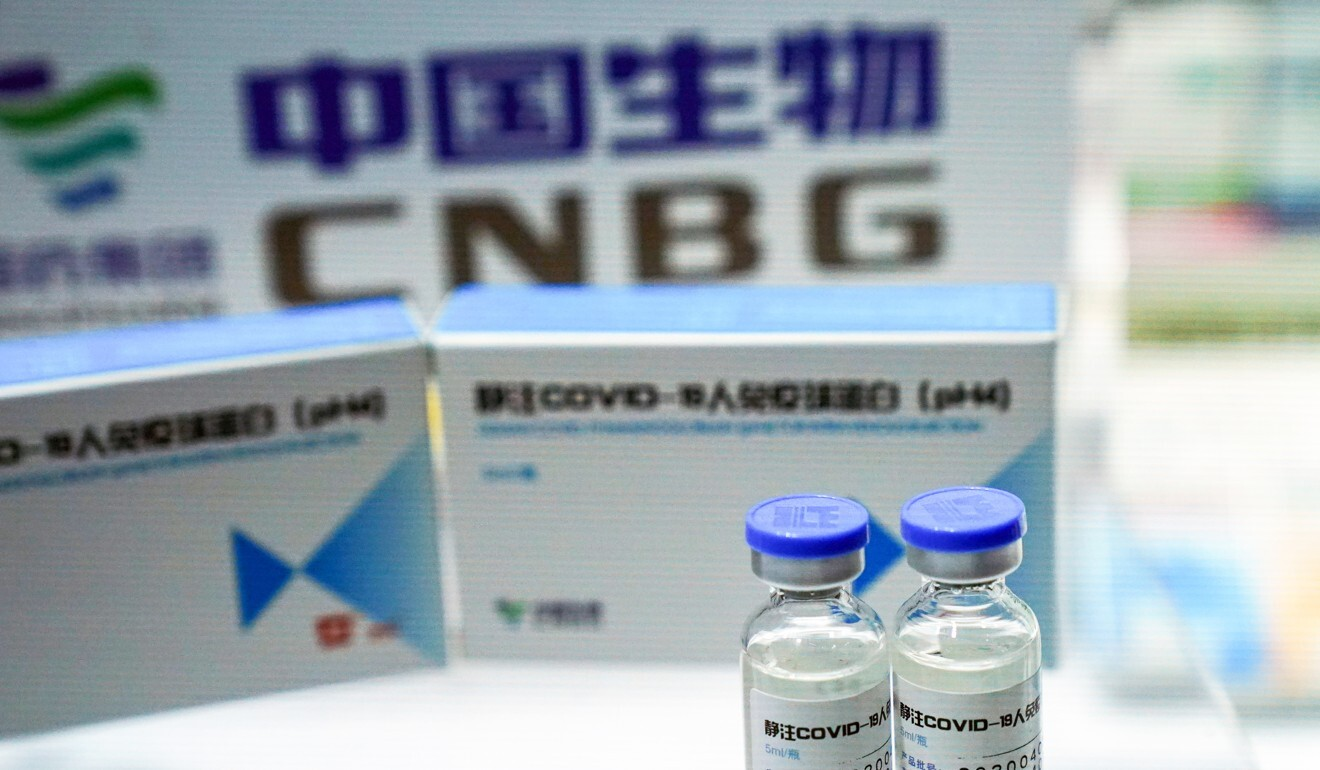 China National Biotec Group's vaccine is undergoing a large-scale trial in the UAE. Photo: Reuters