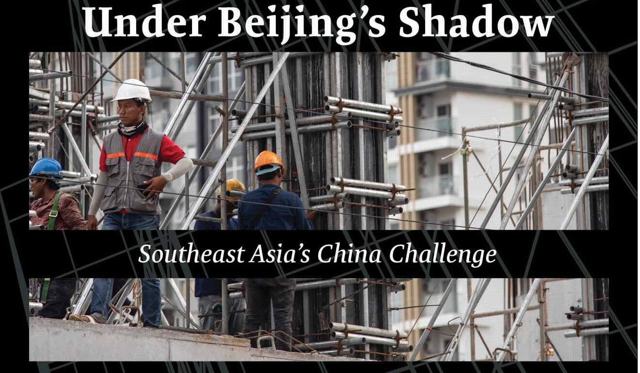 Book cover of Under Beijing's Shadow: Southeast Asia's China Challenge, by Murray Hiebert.