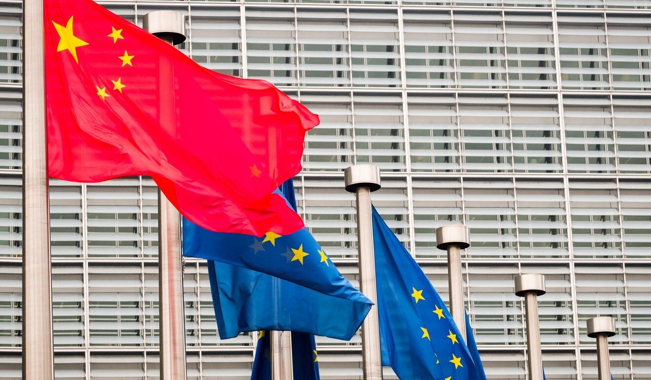 China and the European Union have been negotiating on an investment treaty for years. Photo: Bloomberg