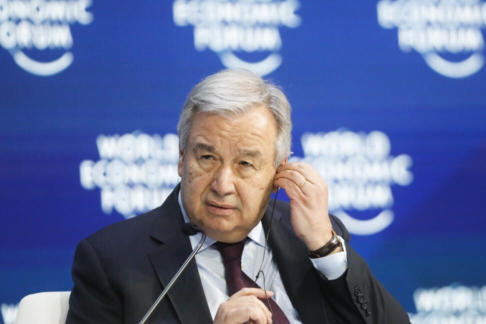 United Nations Secretary General Antonio Guterres. Photo: AP