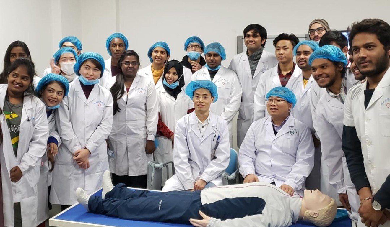 The clinical skills training centre at Zhengzhou University. Photo: Saumyajit Bhaduri