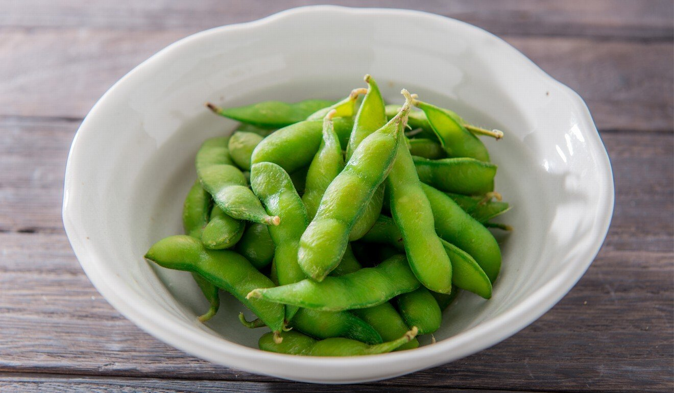 Soybean products, such as Japan's edamame beans, are popular throughout Asia. Photo: Shutterstock