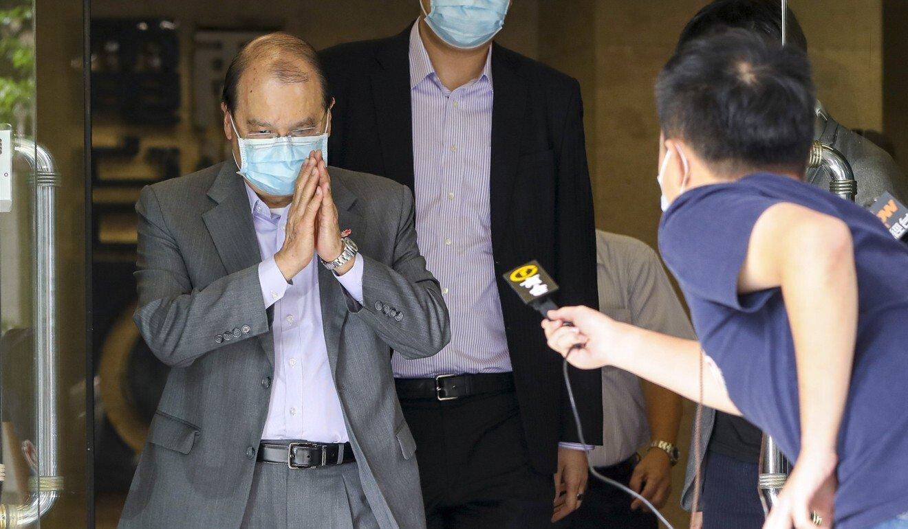 Chief Secretary Matthew Cheung. Photo: May Tse