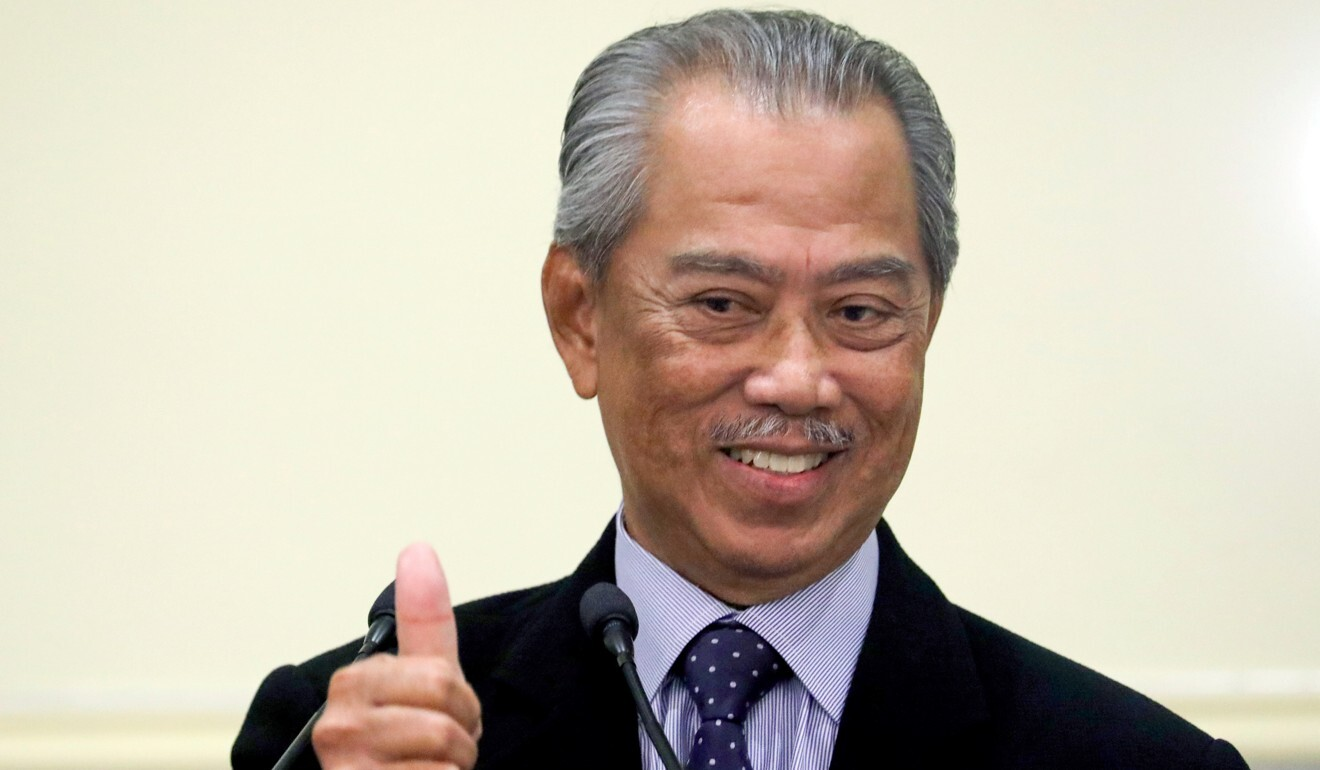Malaysia's Prime Minister Muhyiddin Yassin took power in March after a political coup. Photo: Reuters