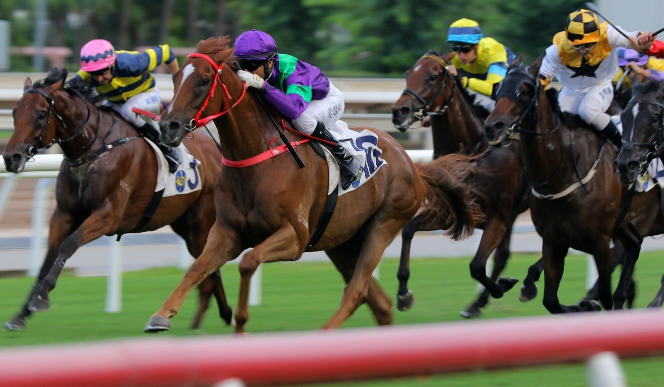 Joao Moreira boots Excellent Proposal to victory at Sha Tin on Sunday.