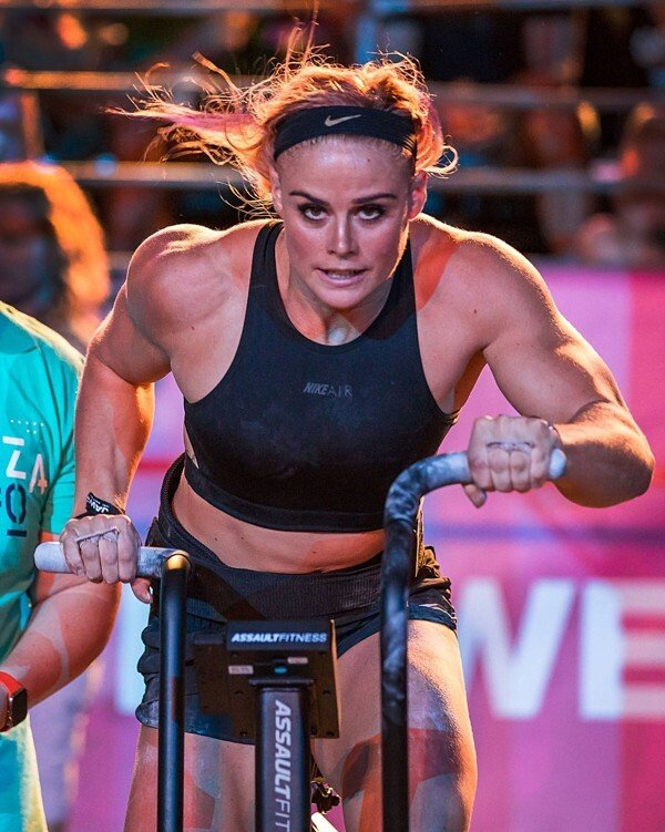 Sara Sigmundsdottir's new routine will pay dividends, but this year's Games came too early to see the benefits. Photo: Wodapalooza