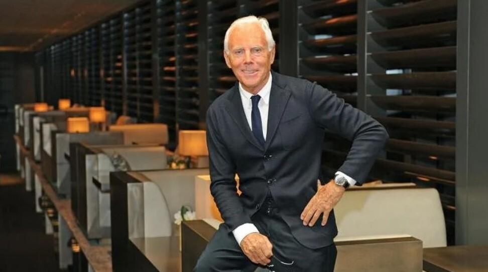 Giorgio Armani. Photo: Luxurylaunches