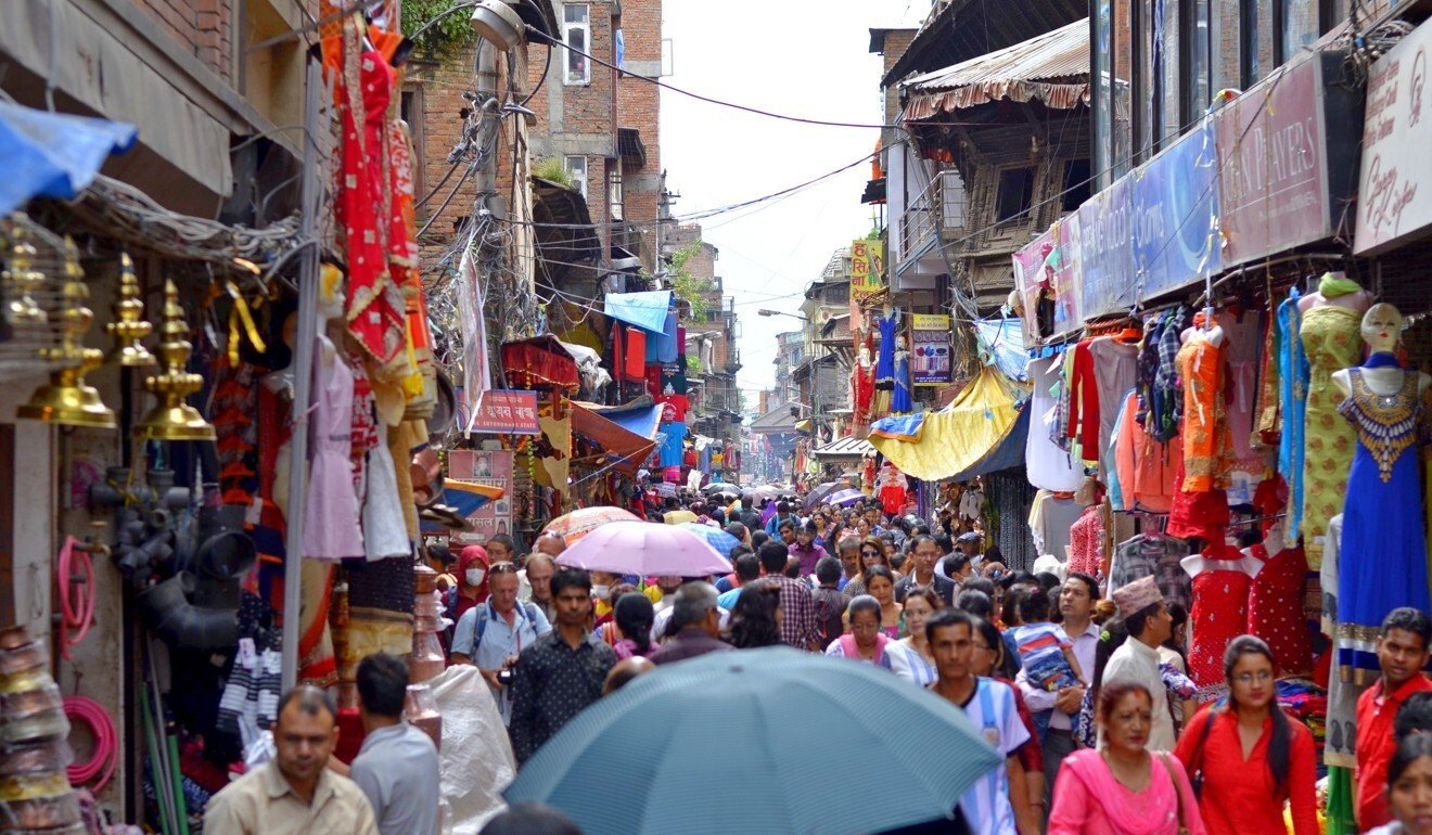 The bustling Thamel is usually a hotspot for tourists in Kathmandu but is now a 'ghost town'. Photo: Handout