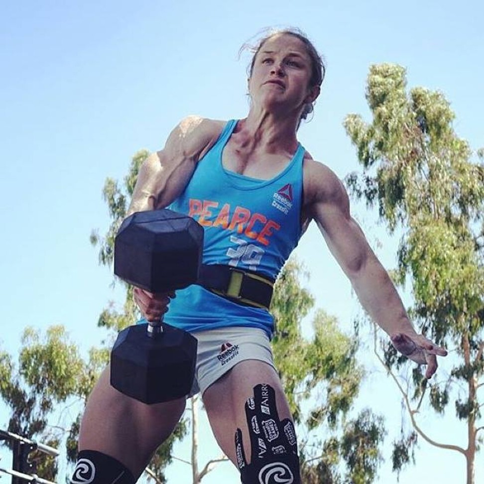 Kari Pearce looks primed for a good showing at the 2020 CrossFit Games. Photo: Facebook