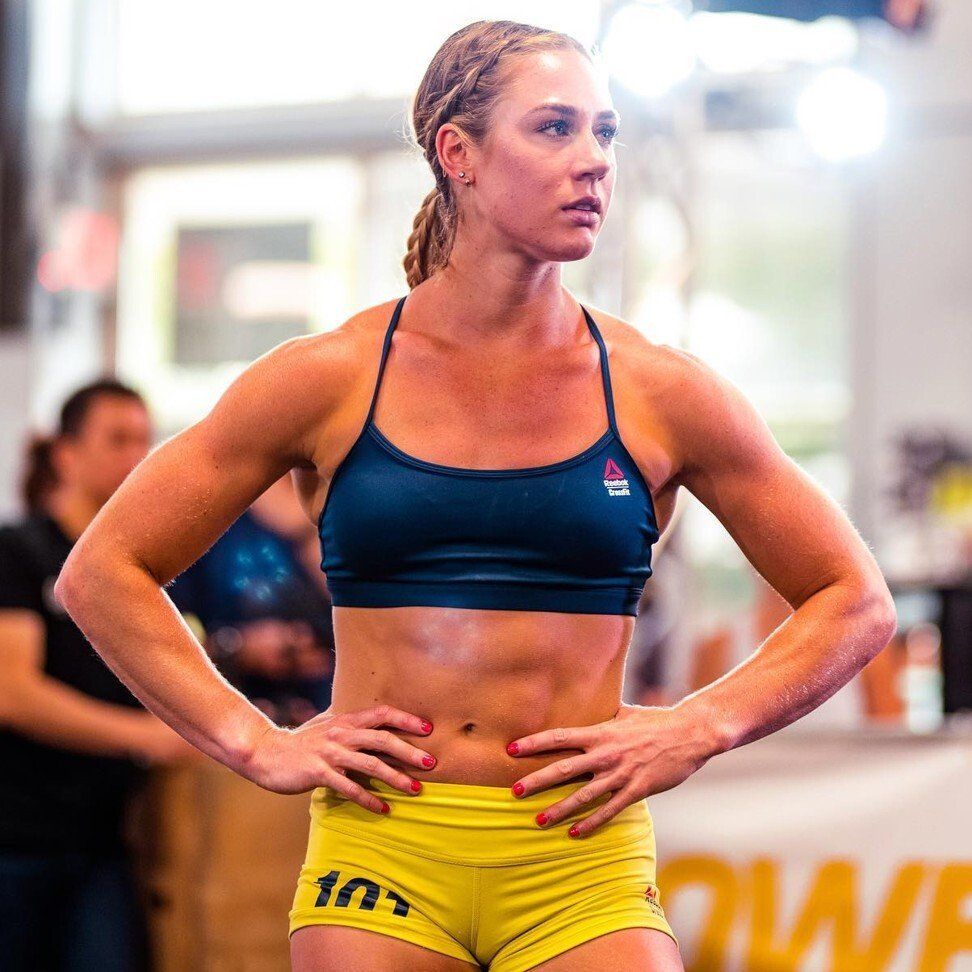 Brooke Wells is only 25 but could podium this year at the CrossFit Games. Photo: Facebook