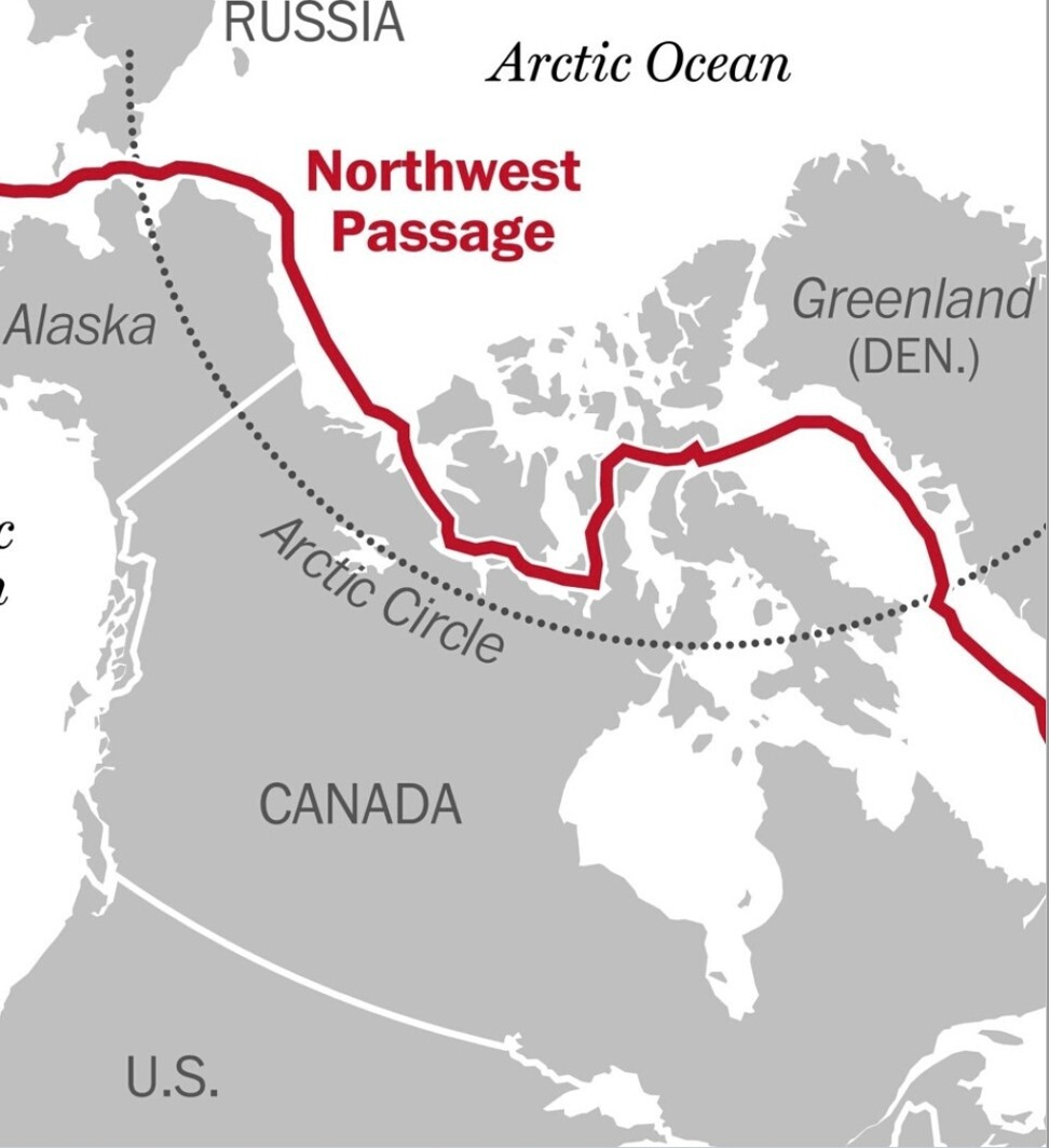 The Northwest Passage links the Atlantic and the Pacific. Photo: NWP2021