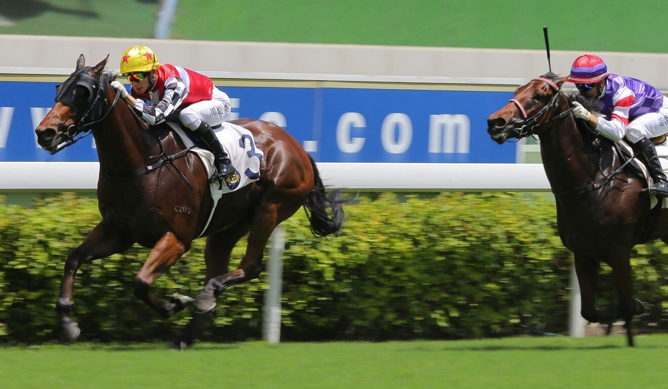 First Responder wins at Sha Tin in June.