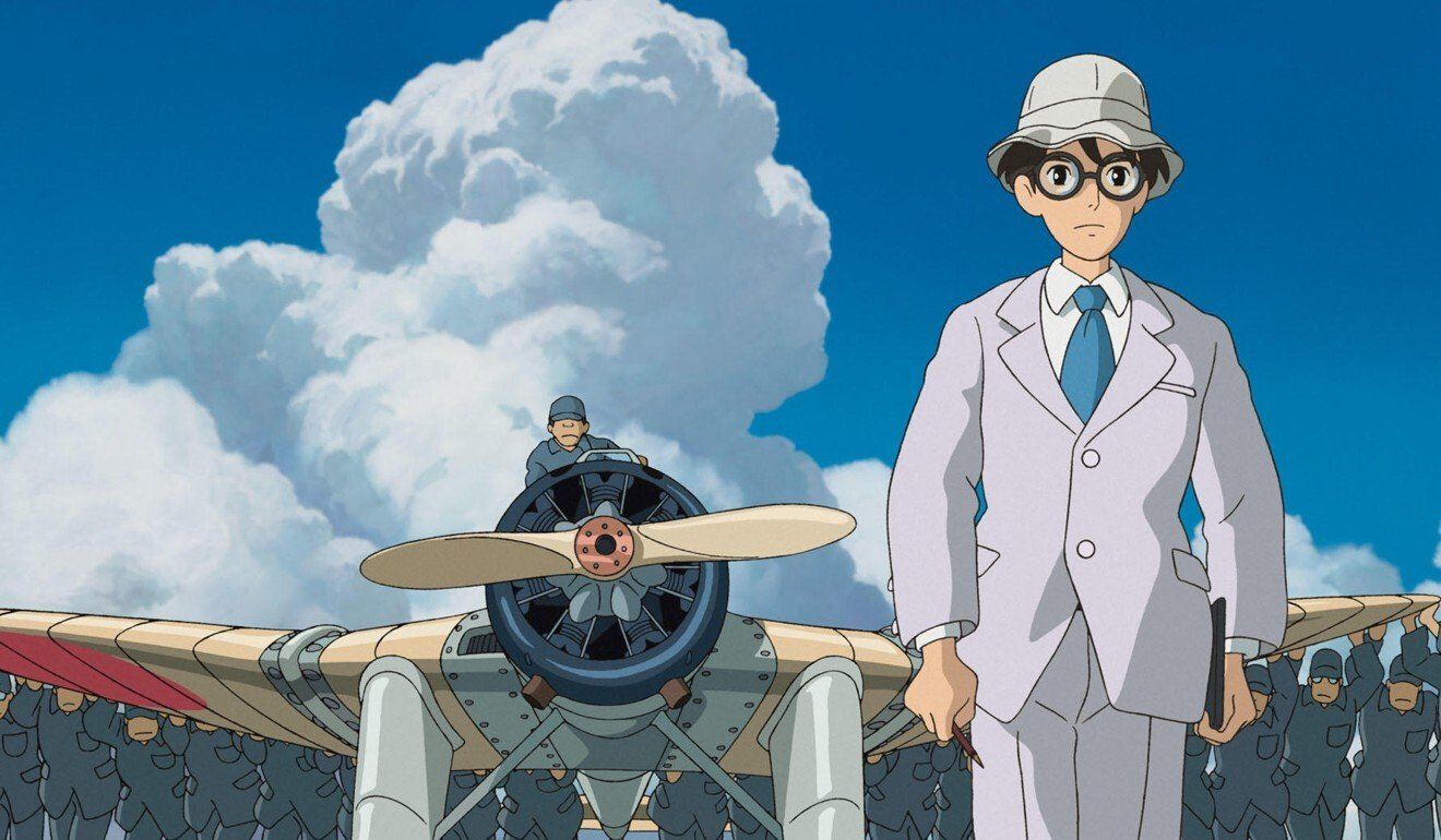 The Wind Rises (2013) shows how benevolent technology can be hijacked by the military for murderous purposes. Photo: Studio Ghibli