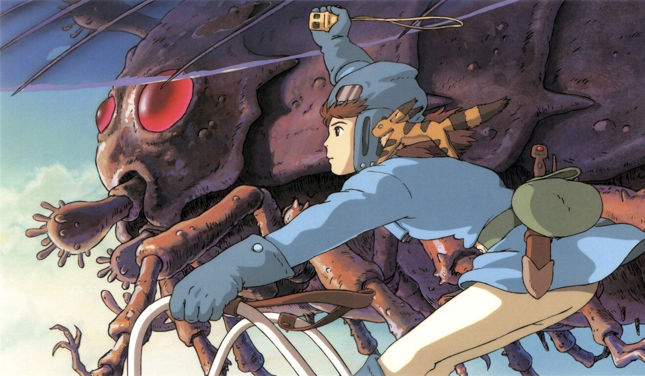 Nausicaa of the Valley of the Wind (1984) examines humankind's tendency to destroy the environment. Photo: Studio Ghibli