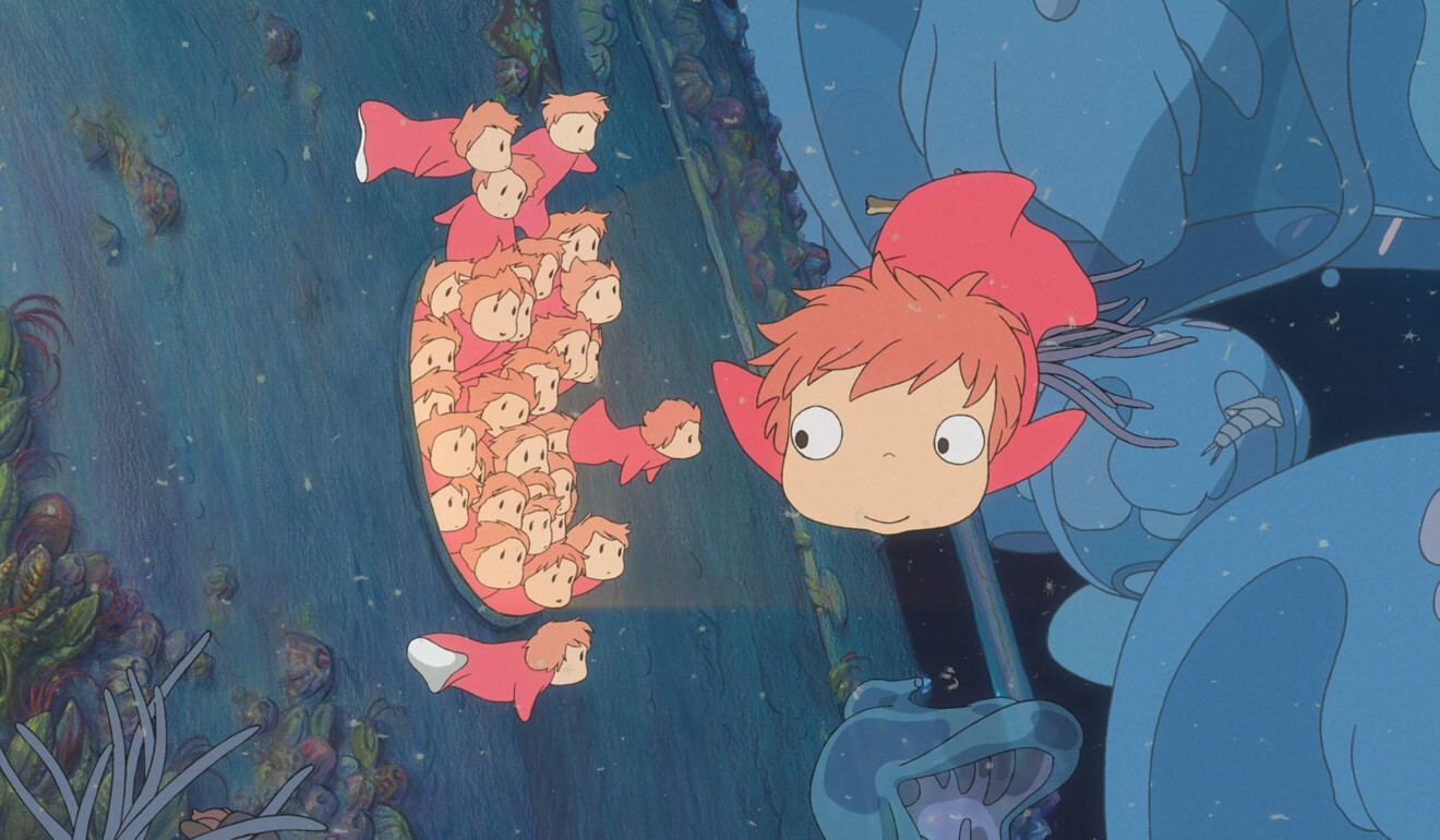 Ponyo (2008) is a bizarre children's tale about a fish that wants to become a human. Photo: Studio Ghibli