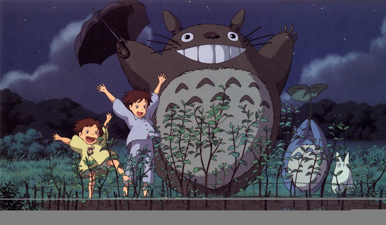 A still from My Neighbor Totoro, a 1988 Japanese animated fantasy film written and directed by Miyazaki. Photo: Studio Ghibli