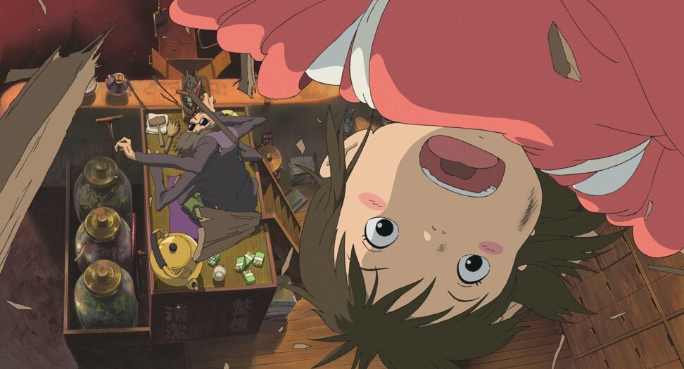 A still from Spirited Away (2001). The film shared the prestigious Golden Bear at the Berlin Film Festival in 2002.