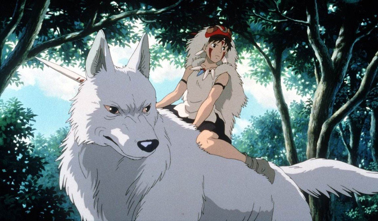 In Princess Mononoke (1997), computer animation was used for the first time to enhance some scenes. Photo: Studio Ghibli