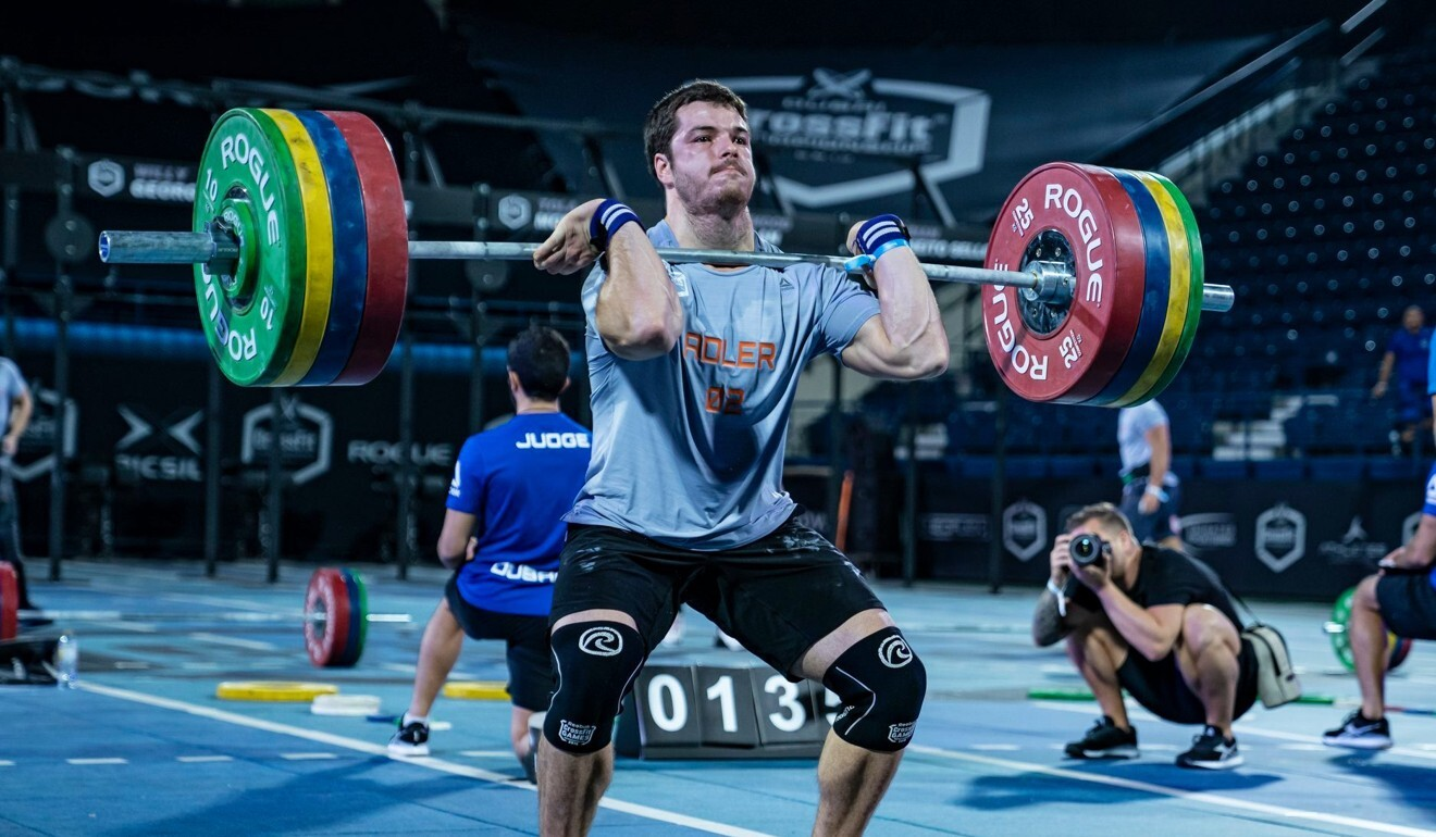 Jeffrey Adler said he likes both online and in-person competitions. Photo: Dubai CrossFit Championship