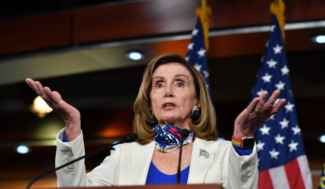 US Speaker of the House, Nancy Pelosi. File photo: AFP