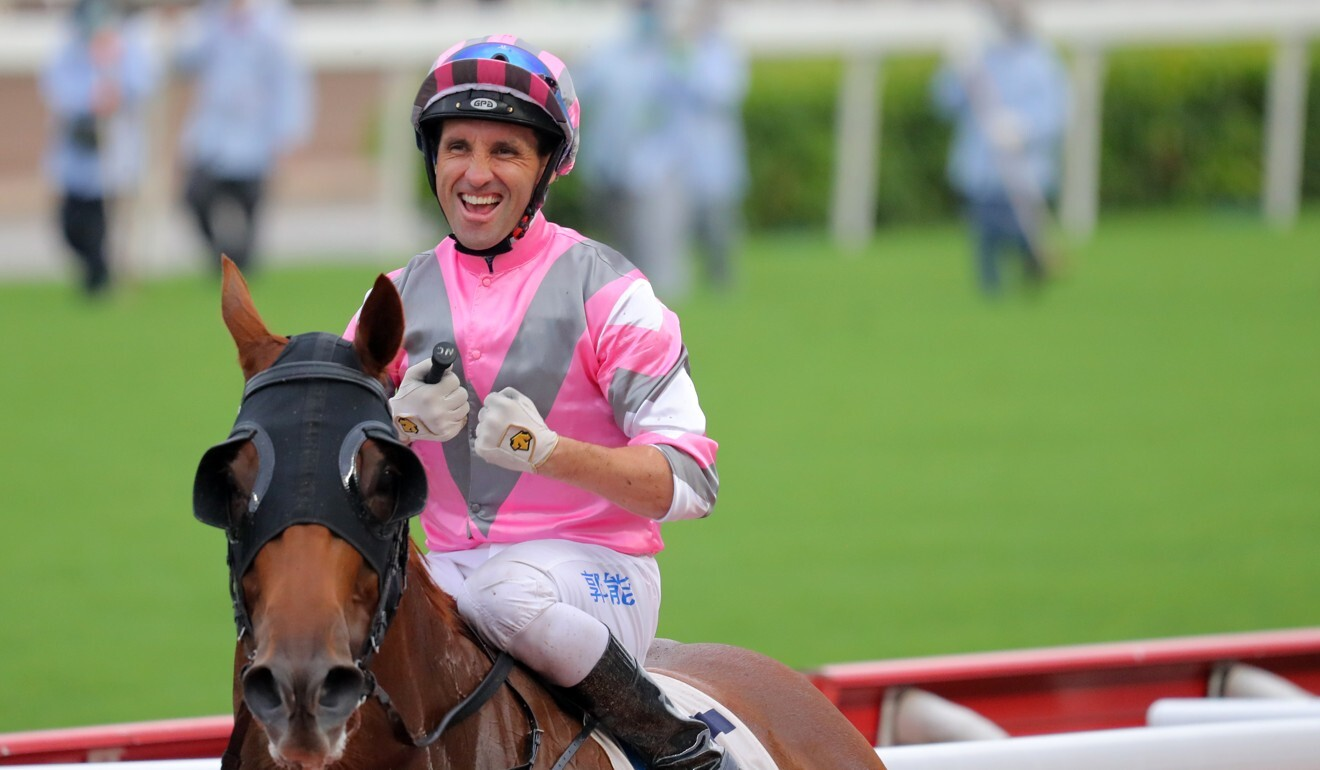 Neil Callan aboard Band Of Brothers after winning last season.