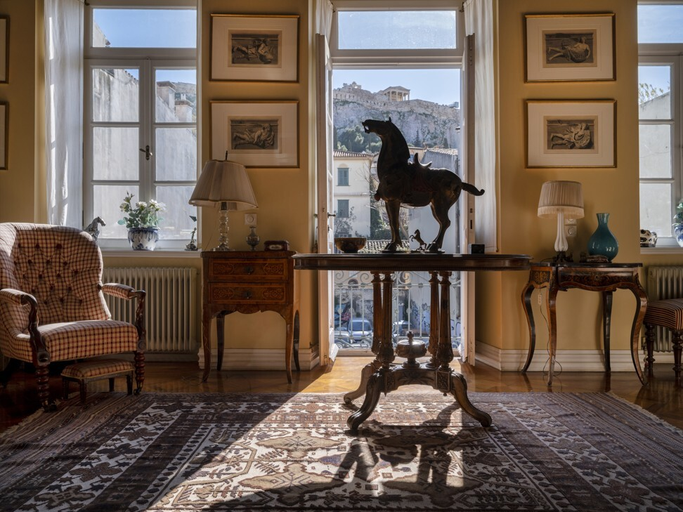 The Imara development in central Athens offers luxury residences finished with curated furnishings and art pieces. Photo: Greece Sotheby's International