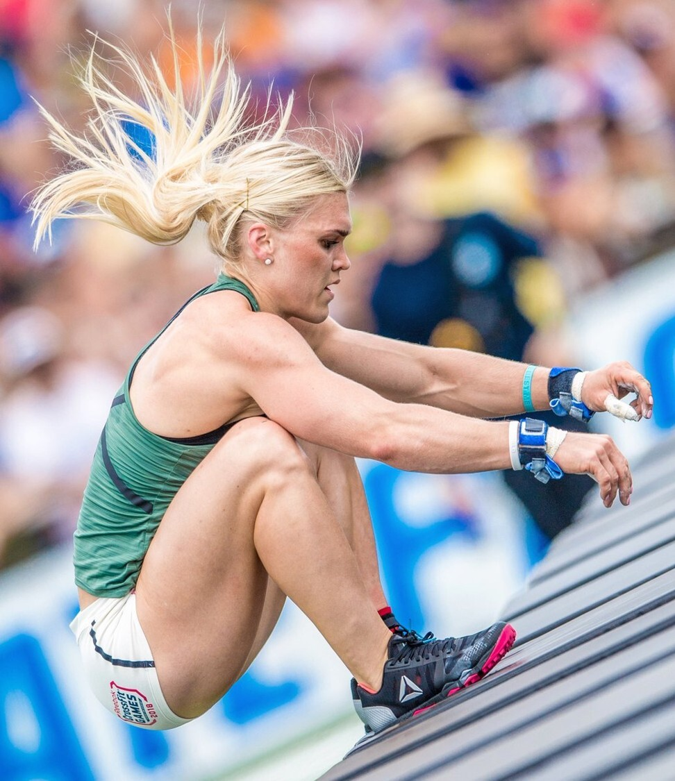 Can Katrin Davidsdottir upset Tia-Clair Toomey at the 2020 CrossFit Games? Photo: CrossFit Games