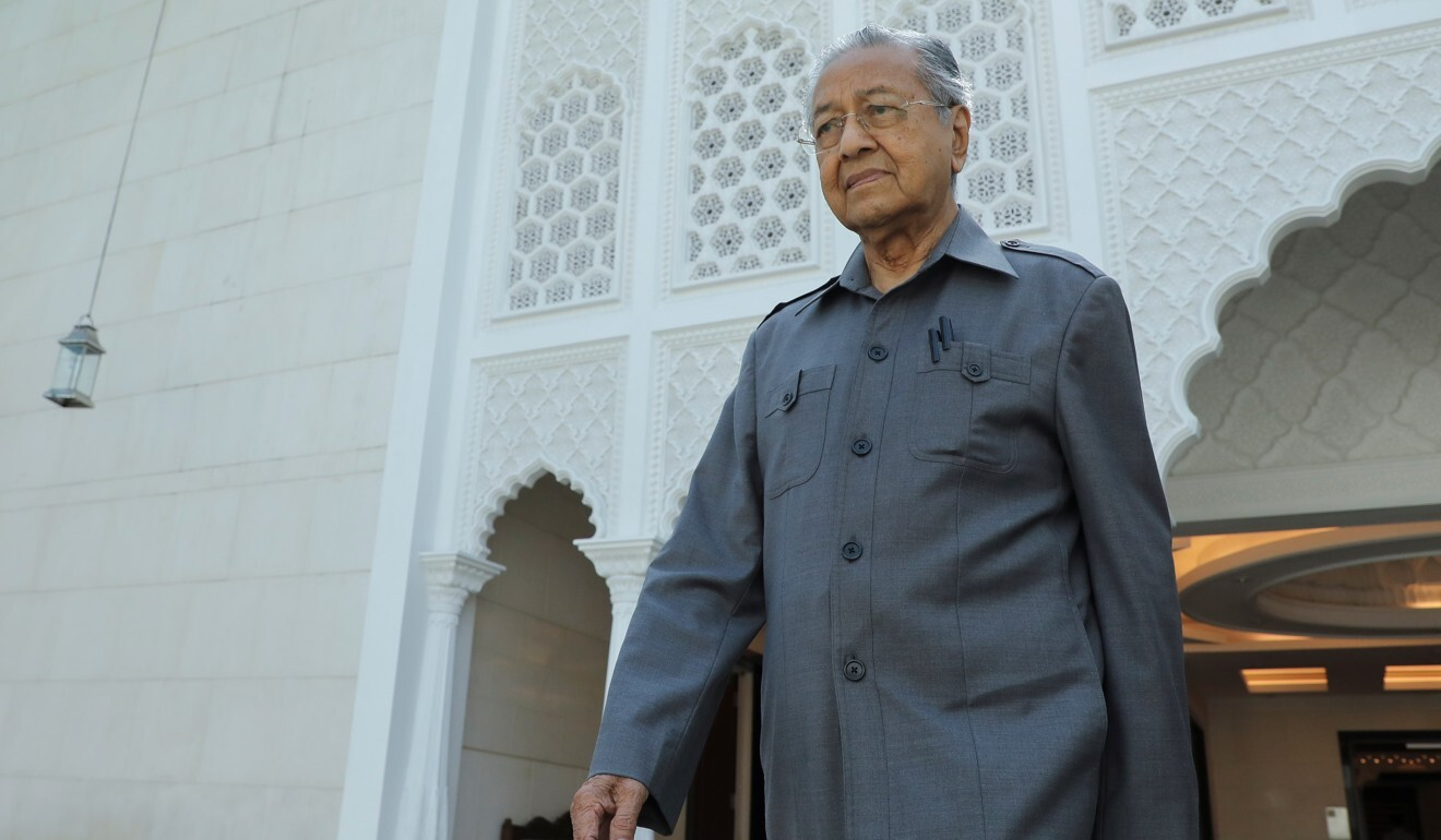 Malaysia's former Prime Minister Mahathir Mohamad pictured in Kuala Lumpur on Friday. Photo: Reuters