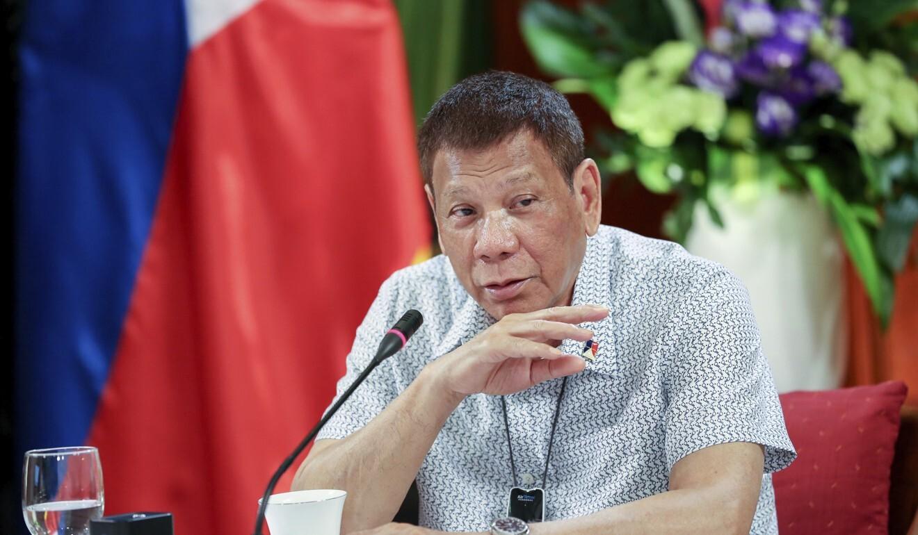 Rodrigo Duterte has had a boost from Russia. Photo: AP