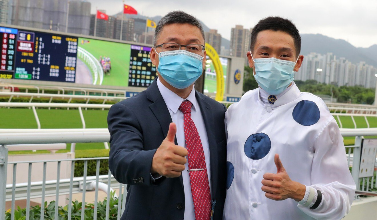 Trainer Francis Lui and jockey Vincent Ho team up with Golden Sixty again on Sunday.