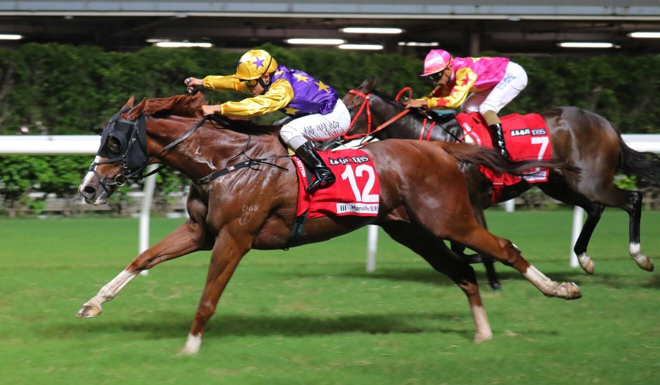 Amazing Kiwi sprints clear to win.
